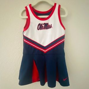 Nike Ole Miss Cheerleading Uniform Toddler Girl 3T